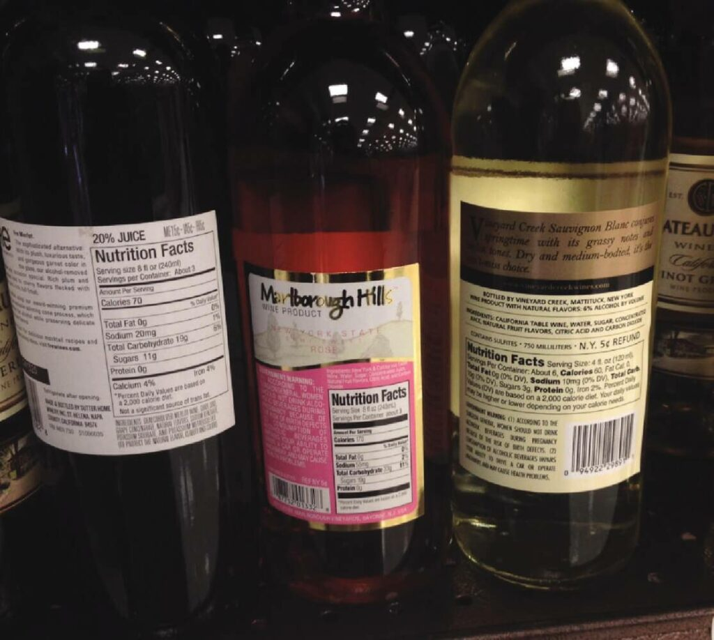 FDA label requirment