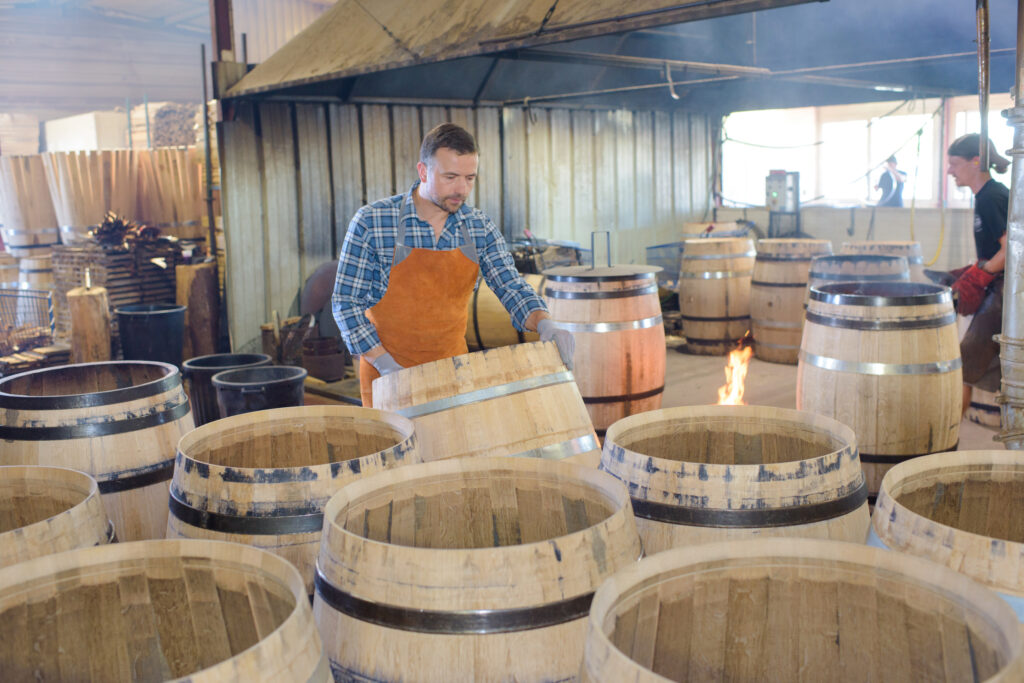 Barrels Old and New:  Make Crafting Spirits a Careful Balance of Art & Science