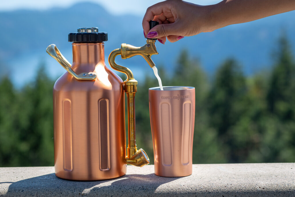 21st-Century Growlers:   Pairing Innovation and Convenience