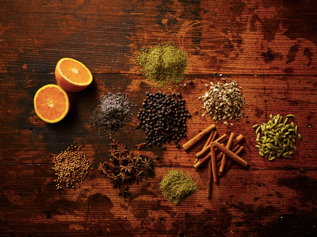 Varieties of Gin Botanicals in the Pacific Northwest