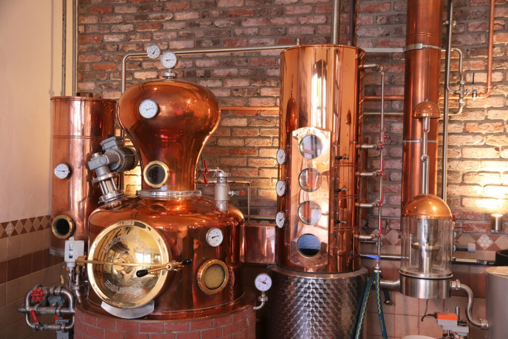 Tank Supplies for Modern Distilleries